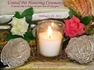 United Pet Honoring Ceremony Feb 10, 13