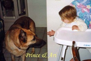 Prince and Ari Pet Honoring copy