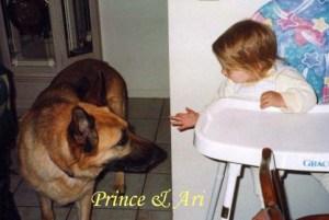 Prince and Ari Pet Honoring copy