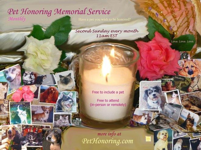 Pet Honoring Memorial Service BEST